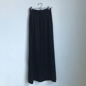 Vintage Maxi Charmeuse Skirt